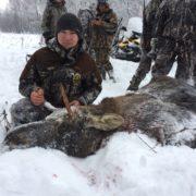 Охота на лося в Бобре